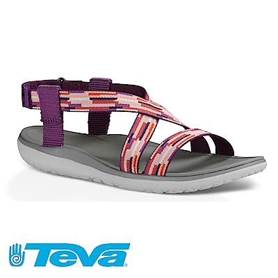 TEVA Terra-float livia 女休閒涼鞋 紫紅相間色