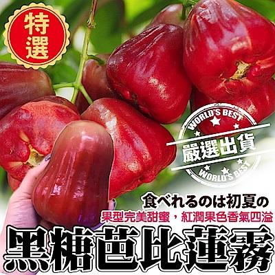 【天天果園】高雄六龜黑糖芭比蓮霧 x4斤