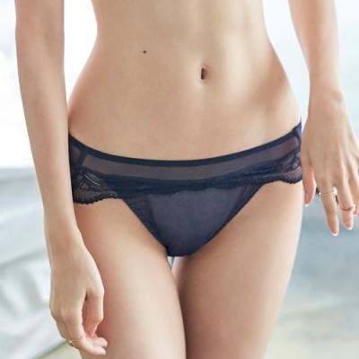 蕾黛絲-法式歌德穩包靠過來搭配低腰內褲 M-EL 歌德靛藍