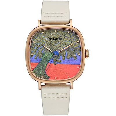 姬龍雪Guy Laroche Timepieces藝術系列腕錶-艾米麗娜
