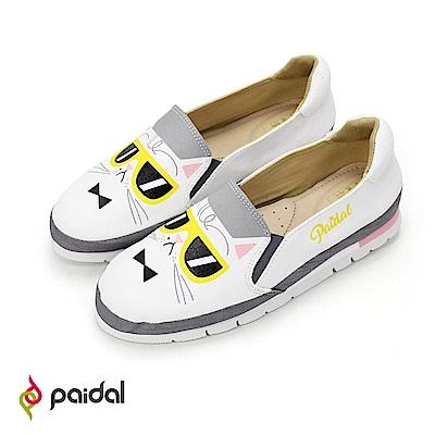 Paidal大頭墨鏡貓加厚休閒鞋