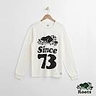 Roots 男裝- 周年系列 73長袖T恤-白