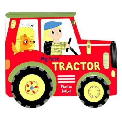 My First Tractor 農場拖拉機~開工!輪子轉轉硬頁書