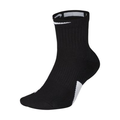 NIKE  中筒襪 藍球襪 襪子 運動 訓練  2雙入 黑 白SX7625013 U NK ELITE MIDNBA