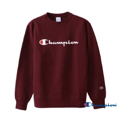Champion Basic Logo 經典款大學Tee 暗紅