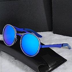 米蘭精品 太陽眼鏡偏光墨鏡-別緻氣質圓形框架男女配件73en90
