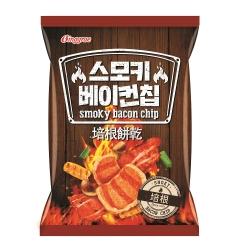 韓味不二 韓國賓格瑞培根餅乾 70g