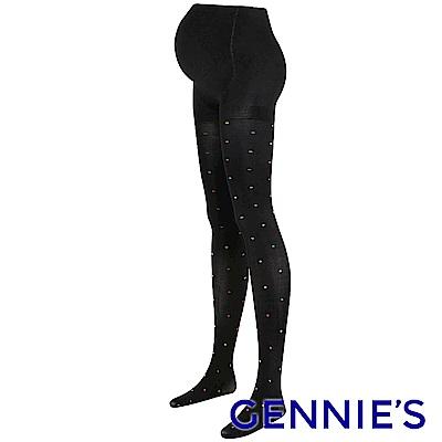 Gennies奇妮-點點緹花彈性褲襪(GM74)