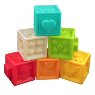 芽比兔3D立體軟積木10pcs