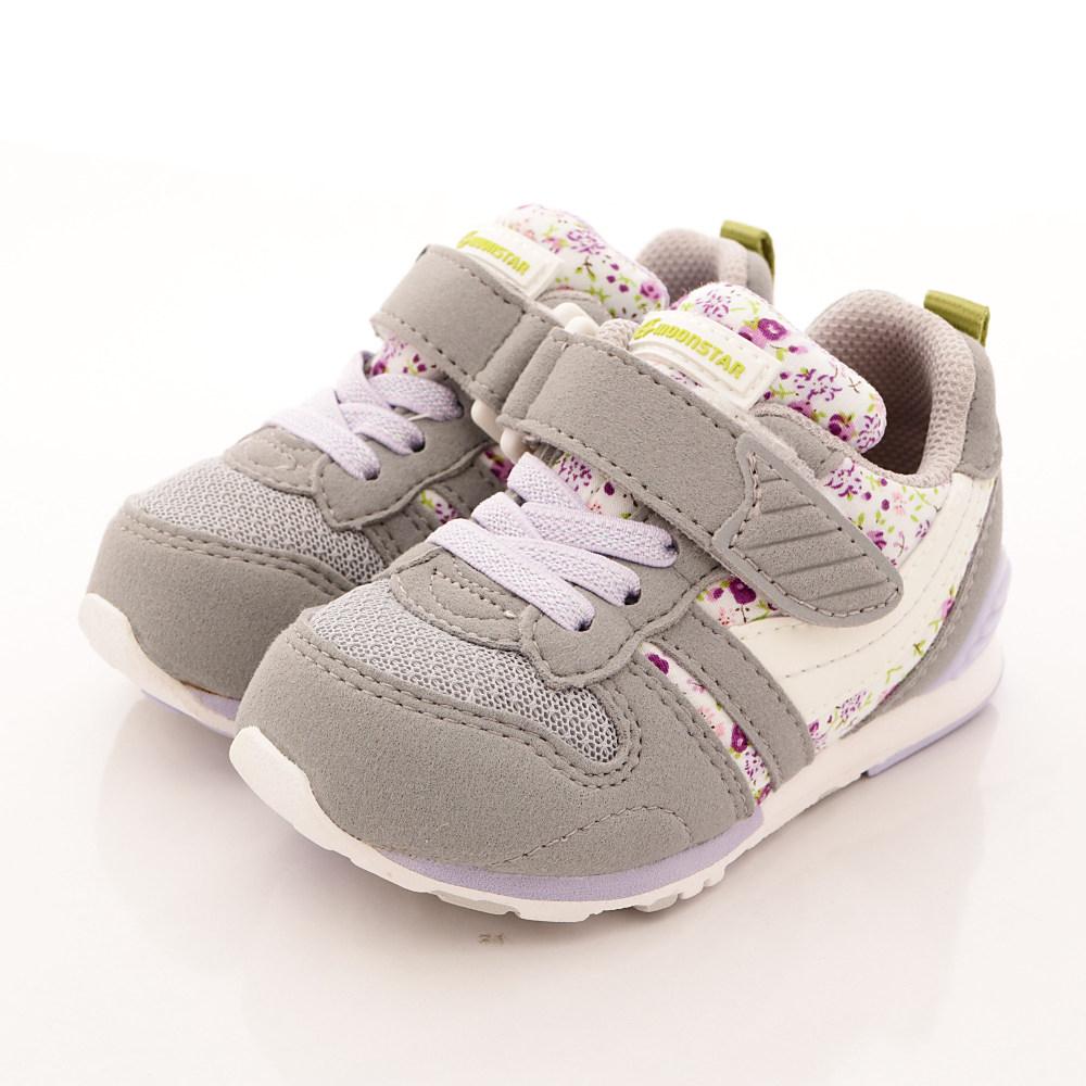 日本月星頂級童鞋 HI系列超強機能鞋款 21S9灰(中小童段)
