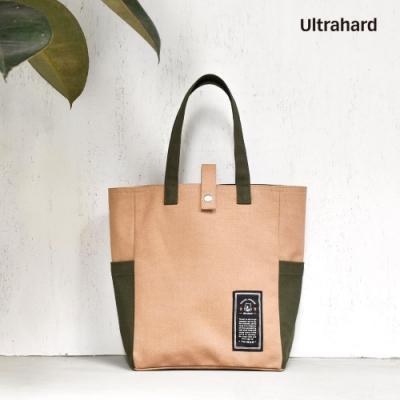 Ultrahard Travel Around閱讀書袋 - 台灣(卡其)
