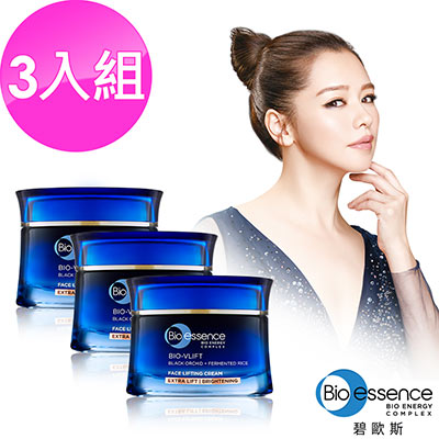 Bio-essence 碧歐斯 BIO V逆齡緊膚霜(加強緊緻透亮)40G(3入組)