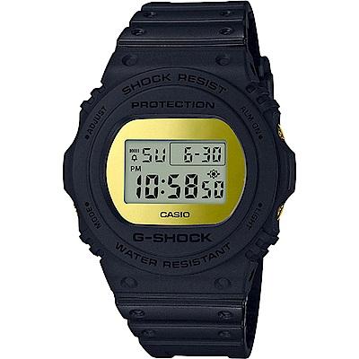 G-SHOCK 卡西歐 鬥牛霸主霧面磨砂運動錶(DW-5700BBMB-1)-45.4mm