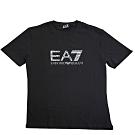 EA7 EMPORIO ARMANI 字母LOGO薄棉短袖男T恤(黑/XL)