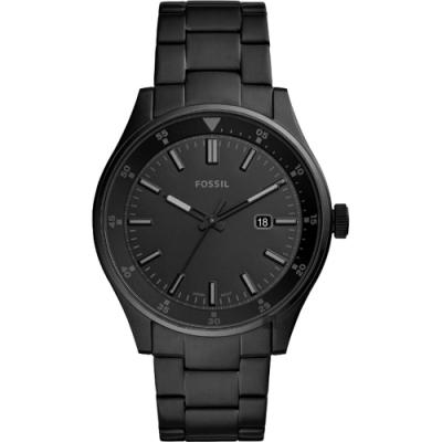 FOSSIL Belmar 當代時尚手錶(FS5531)-黑/44mm