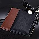 EZlife防磁防射頻盜錄RFID男士錢包(贈平安烏木掛飾)