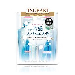 TSUBAKI思波綺 植萃瞬透涼感洗潤組(450mL*2+12mL*2)