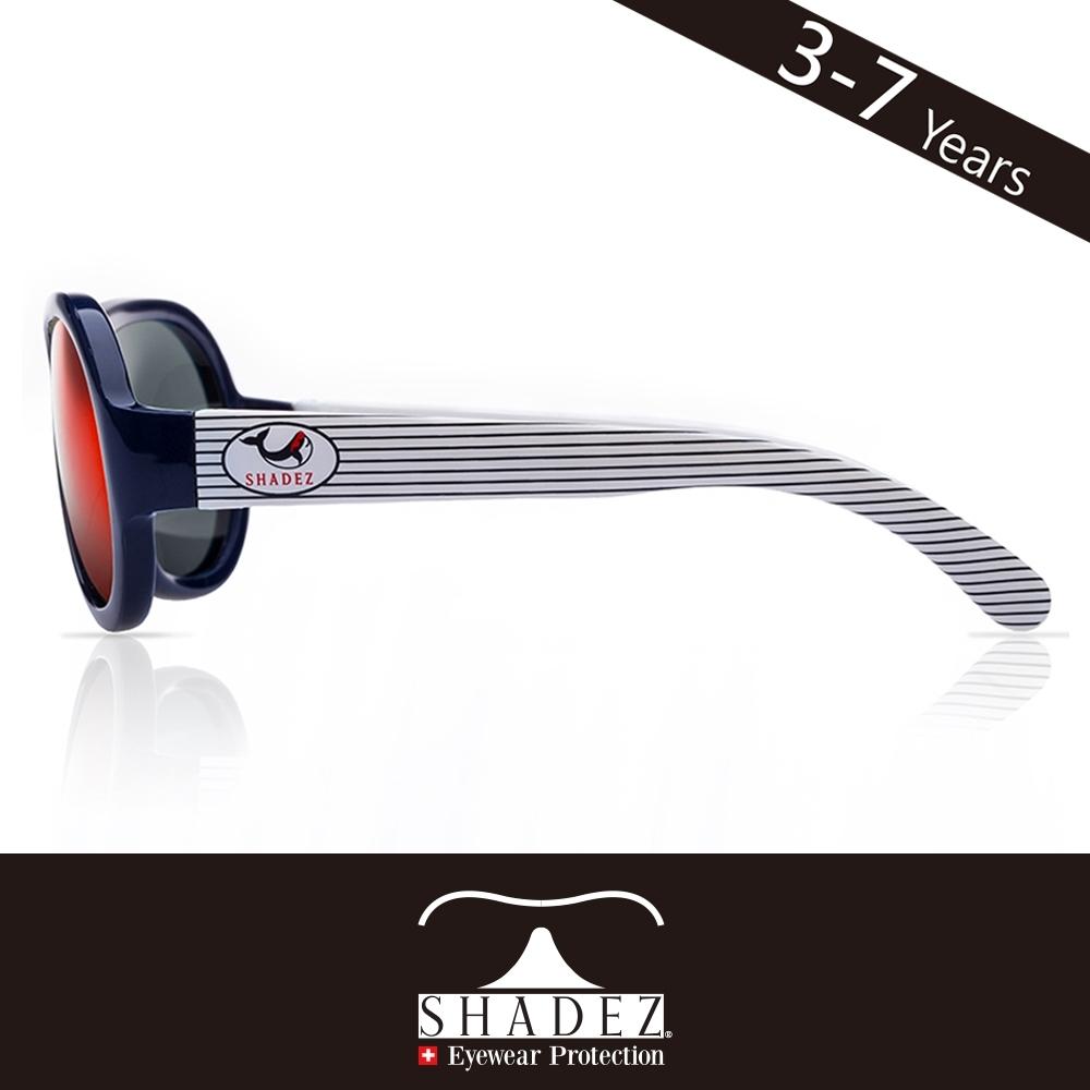 瑞士SHADEZ 兒童太陽眼鏡SHZ-43(年齡3-7)--條紋鯨魚