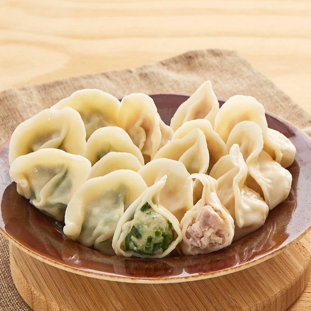 東門御園坊冠軍手工水餃48顆(高麗+韭菜)(CAT)