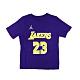 NIKE NBA Statement Edition 兒童 短袖上衣 湖人隊 LeBron James product thumbnail 1