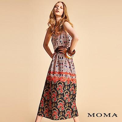 MOMA 變形蟲裙襬花洋裝