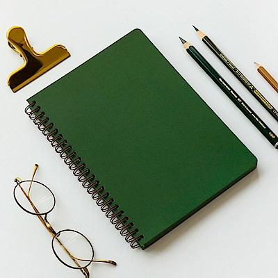 7321 Design RARO純色筆記本-點點-綠