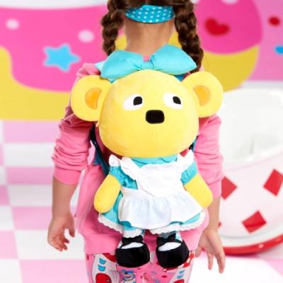 WHY AND 1/2 普普熊玩偶後背包