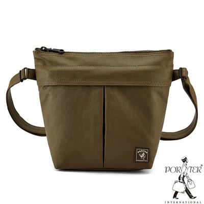 PORTER - 秘境探險FREELAND率性型格斜背包 - 茶褐