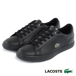 LACOSTE 女用運動休閒鞋-黑色