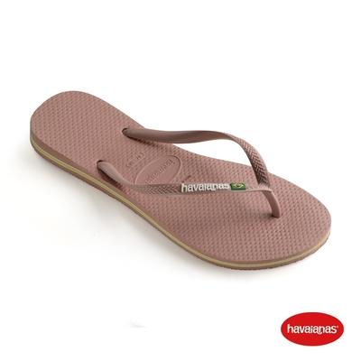 Havaianas哈瓦仕 拖鞋 夾腳拖 人字拖 巴西 女鞋 番紅花 4140713-3544U Slim Brasil  國旗