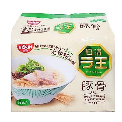 日清 全麥5食袋裝麵-豚骨味(415g)