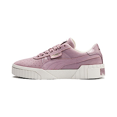PUMA-Cali Nubuck Wn s女性復古休閒鞋-接骨木粉