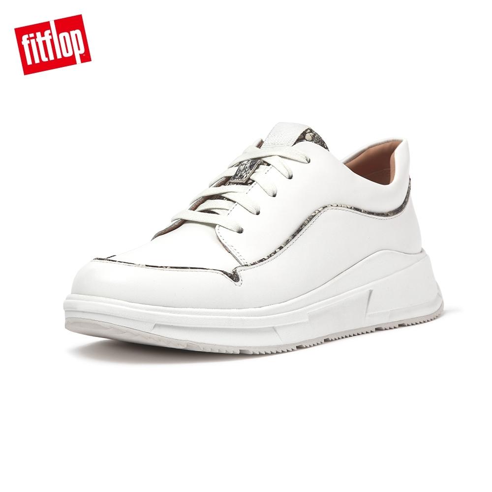 FitFlop FREYA EXOTIC PIPING SNEAKERS 休閒鞋 女(都會白)