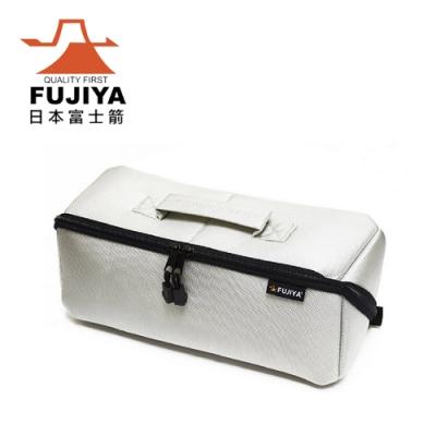 【FUJIYA】經典高緩衝大開口工具收納袋(大)-科技灰-FTC-LIG