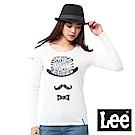 Lee 印花長袖T恤