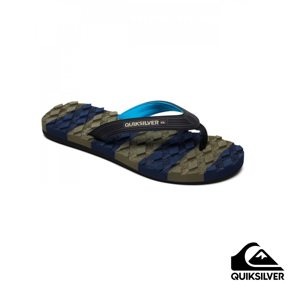 【QUIKSILVER】MASSAGE 夾腳拖 藍 product image 1