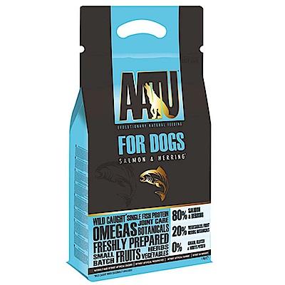 奧圖AATU超級8《嚴選鮭魚+鯡魚》低敏無穀挑嘴全齡犬糧 10KG