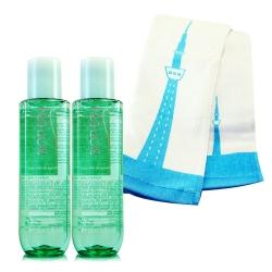 BIOTHERM碧兒泉 活泉平衡機能水100ml*2+品牌運動毛巾(隨機出貨)