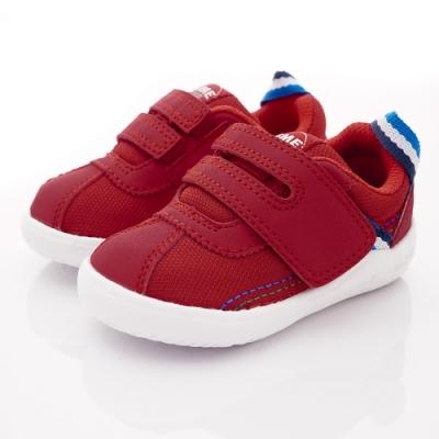 IFME健康機能鞋 織帶學步鞋款 NI70212紅(寶寶段)
