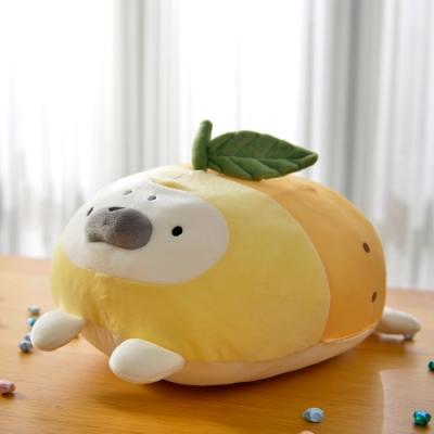 義大利Fancy Belle 檸檬海豹 涼感抱枕