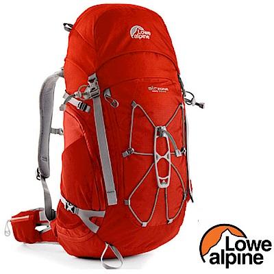英國 LOWE ALPINE AirZone Pro 45:55 輕量透氣登山背包_夕陽紅
