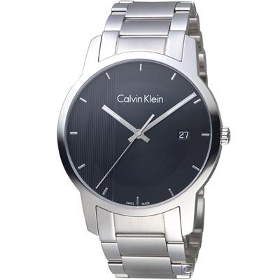 Calvin Klein City Gity 都會系列時尚腕錶(K2G2G14Y)