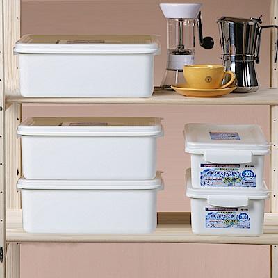 創意達人 雷納急鮮耐冷保鮮盒-5入組(4.5L*2+7.5L*3)