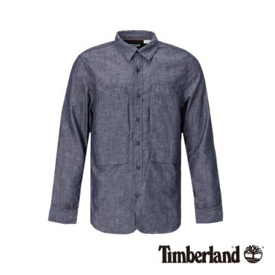 Timberland 男款中水洗色長袖襯衫 A1Y52