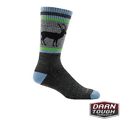【美國DARN TOUGH】男羊毛襪UNCLE BUCK健行襪(顏色隨機)