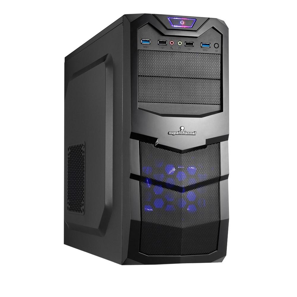 微星H310平台[烈空風將]i3-9100F/8G/2T/GTX1650/240G_SSD