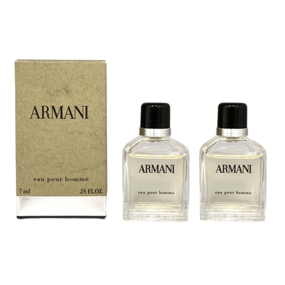 GIORGIO ARMANI亞曼尼 經典男性淡香水 小香7mlx2入