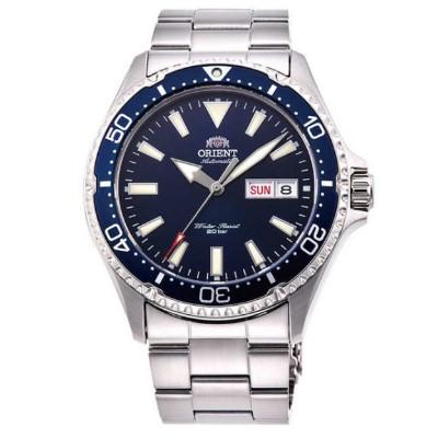 ORIENT 東方錶 怒海潛將 藍寶石鏡面 機械錶(RA-AA0002L)藍水鬼/42mm