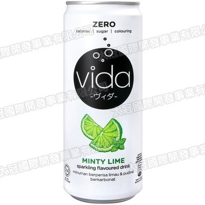 DYDO VIDA碳酸飲料 萊姆風味(325ml)