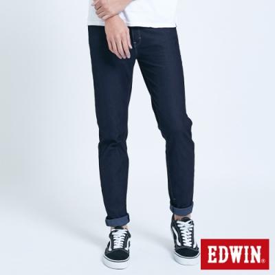 EDWIN JERSEYS 迦績 MED系列 不對稱AB牛仔褲-男-酵洗藍